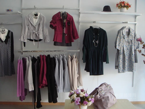 Women's Colorful Clothing At Fashion Boutique Stock Photo - Image: 56120067
